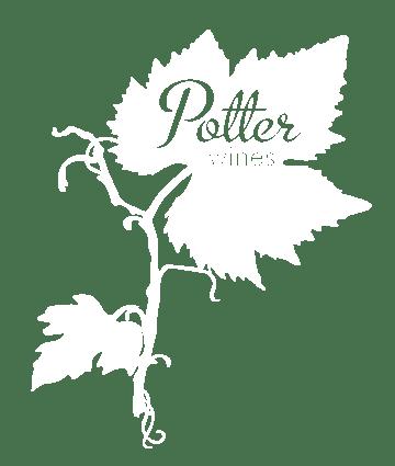 Potter Wines white logo