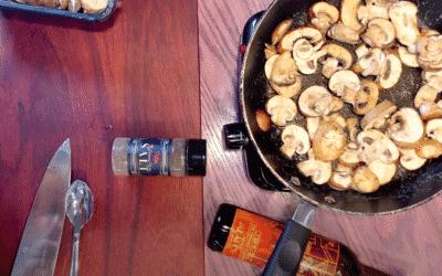 Potter Wines Cooks – Sauteed Chipotle Jalapeno Wine Mushrooms